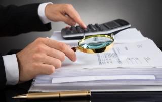Kontrolle von Rechnungen