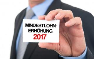 Mindestlohnerhöhung 2017