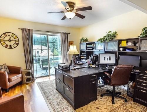 Häusliches Arbeitszimmer: Das sollten Sie wissen