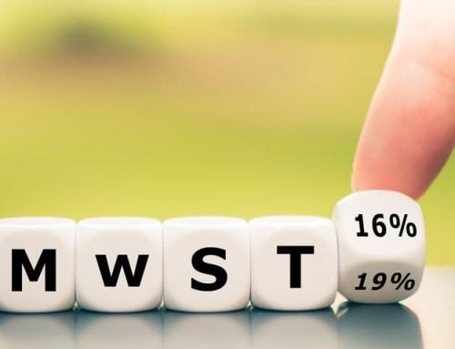 Absenkung der Umsatzsteuer zum 1. Juli 2020