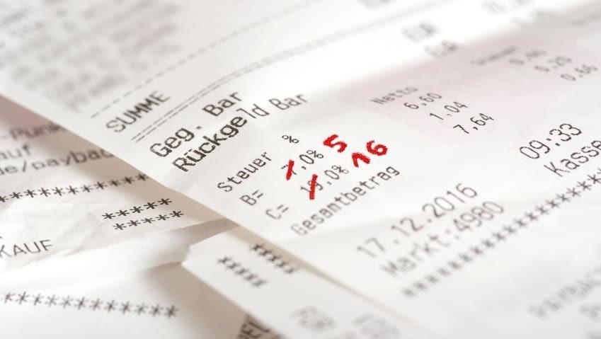 Umsatzsteuer-Senkung ab 1.7.2020